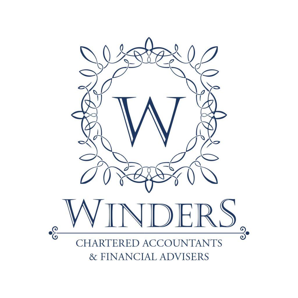 JL Winder & Co Logo Blue on White CAFA