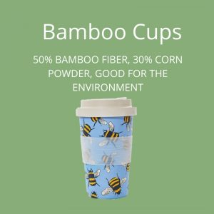 Eco Chic Bamboo Cups