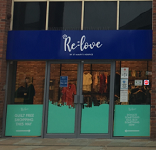 Relove shop front Portland Walk